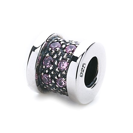 Wheel Of Fortune Bead (pink)