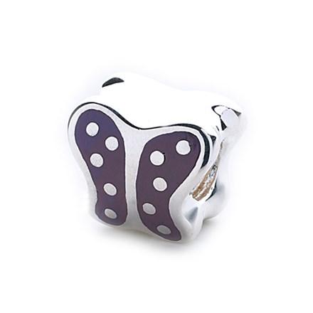 Butterfly Bead (Spotted Enamel)