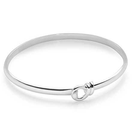 Ribbon Twist Bangle