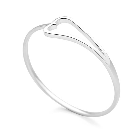From the Bottom of My Heart Bangle