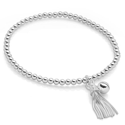 Silver Tassel Bracelet