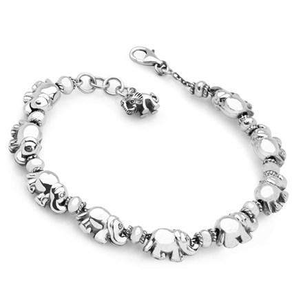 Elephant Family Bracelet
