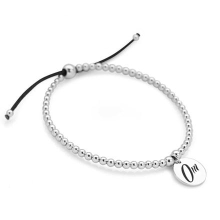 Om Bracelet (Black)
