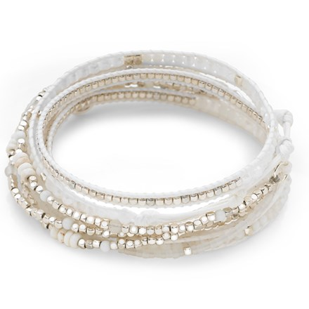 Miami Wrap Bracelet (White)