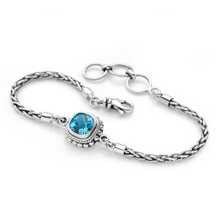 Eye of Azure Bracelet