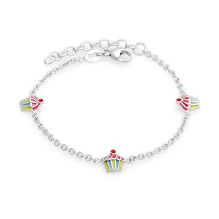 Mini Cupcake Children's Bracelet