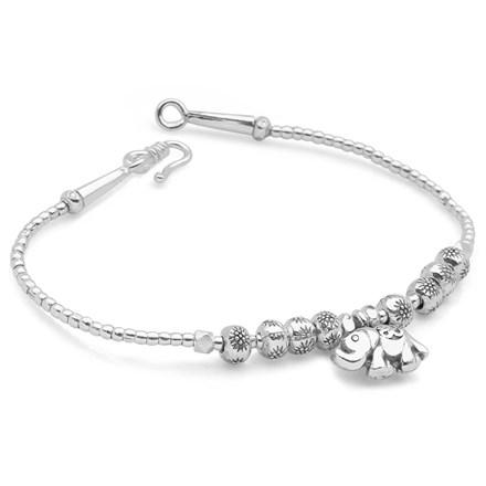Elephant Om Bracelet
