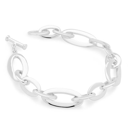 Oval Steam Bracelet