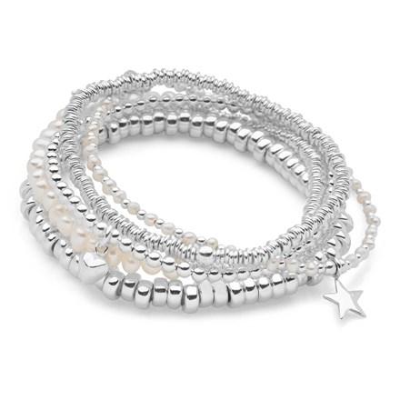 Perla Bracelet Stack