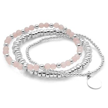 Rosé Bracelet Stack