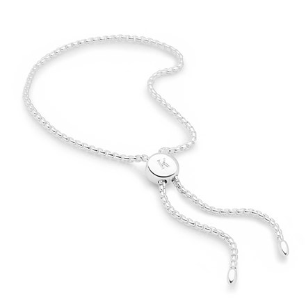 Initial Toggle Bracelet