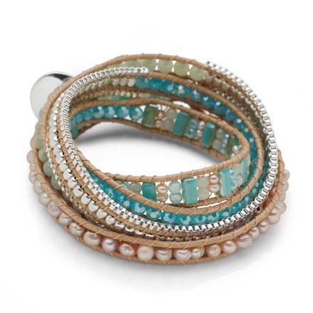 Sky Mist Wrap Bracelet