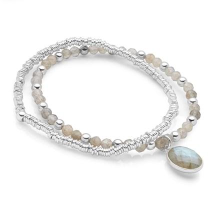 Glacier Stack Bracelet Set