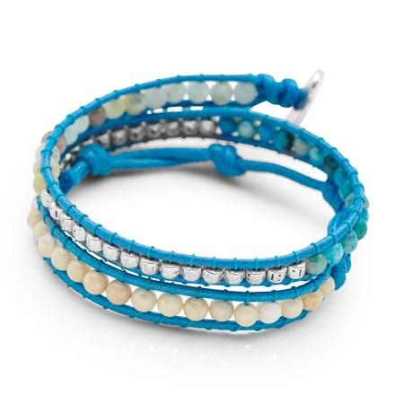 Beachy Double Wrap Bracelet