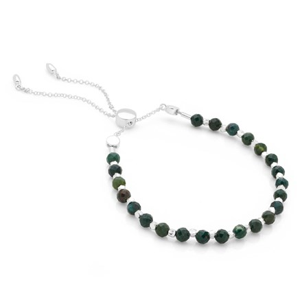 Bijou Toggle Bracelet (Madagascar Jade)