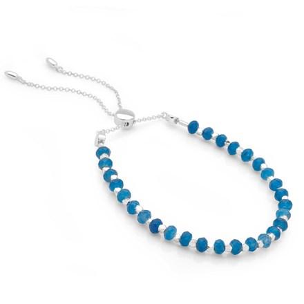Bijou Toggle Bracelet (Chalcedony)