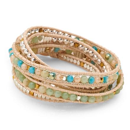 Tuscan Skies Wrap Bracelet