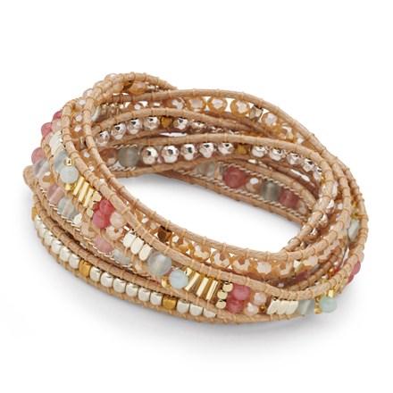 Tuscan Sands Wrap Bracelet