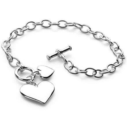 Two of Hearts Bracelet