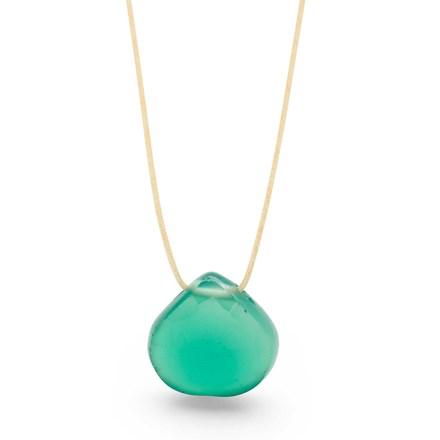Green Onyx Vessel Necklace