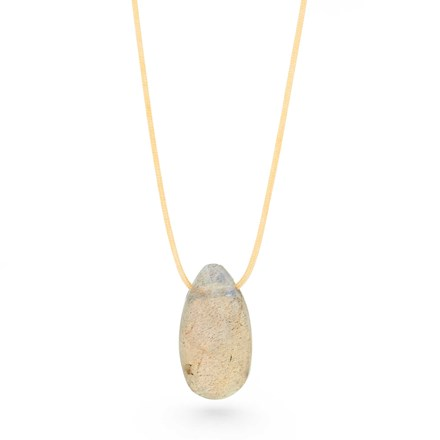 Labradorite Vessel Necklace