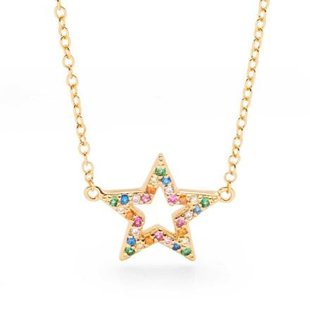 Rainbow Star Chain