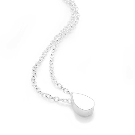 Silver Drop Chain