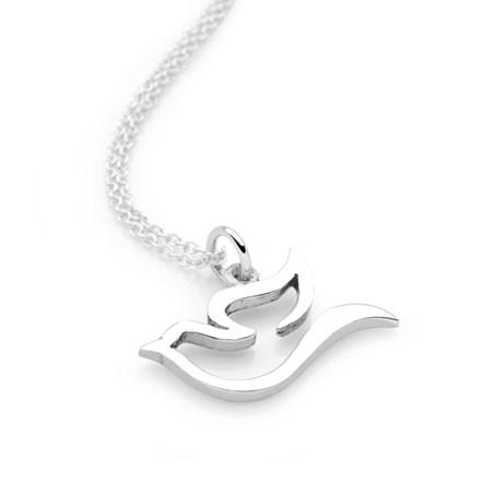 Silver Dove Chain