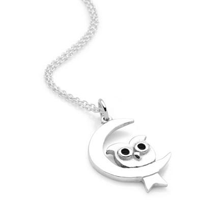 Midnight Owl Chain