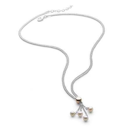 Blushed Pearl Chain