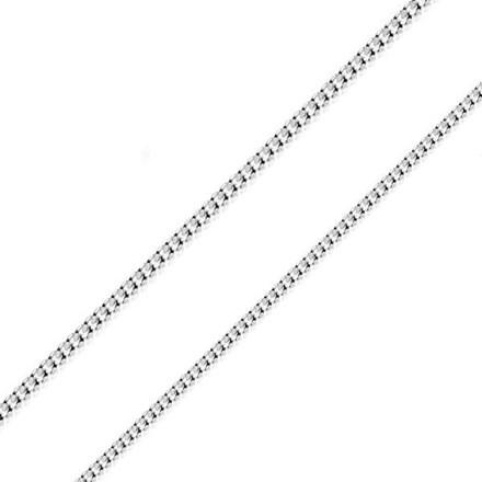 Silver Curb Chain 65cm