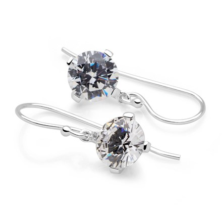 Bedazzle Earrings (Clear)