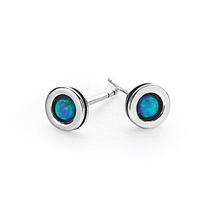 Opal Dot Studs