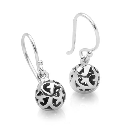 Balinese Ball Earrings