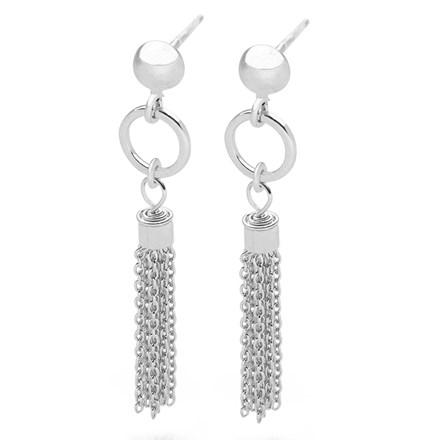 Silver Falls Earrings