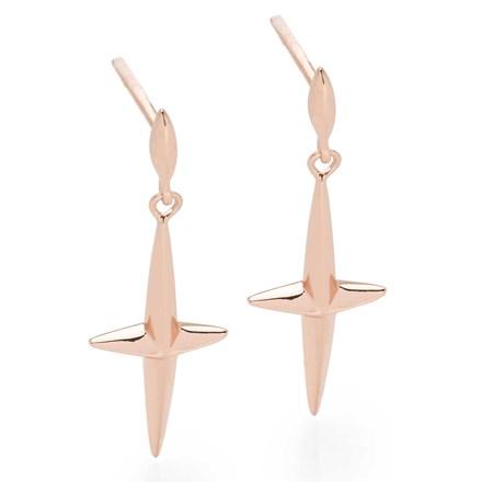 Starlett Earrings (Rose Gold)
