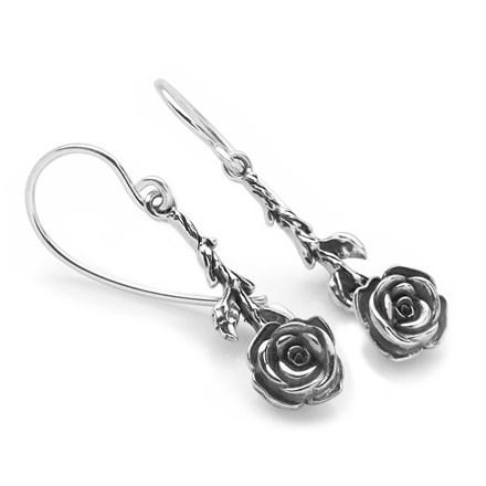 Royal Rose Earrings