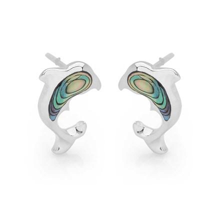 Glimmering Dolphin Earrings