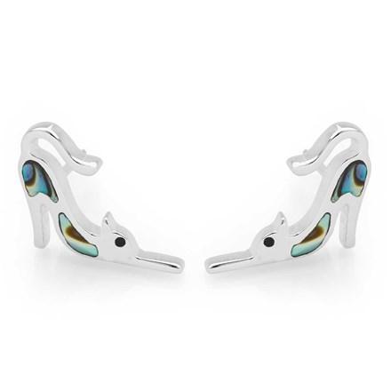 Shimmering Cat Earrings