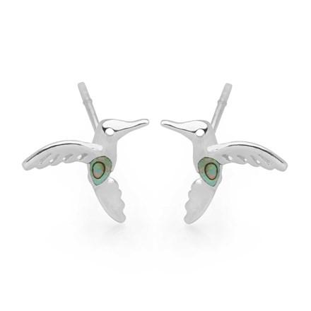 Mystical Hummingbird Studs