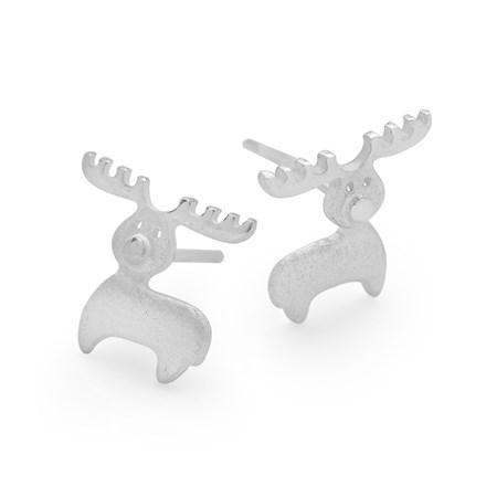 Shimmering Reindeer Earrings