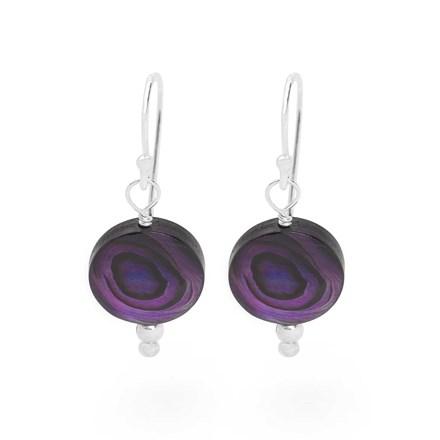 Violet Moon Earrings