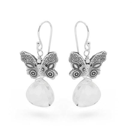 Glacier Butterfly Earrings