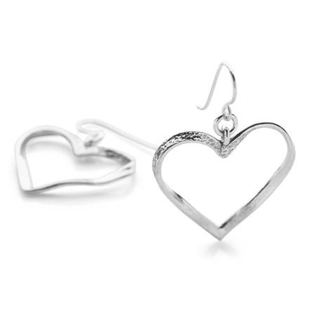Love Ribbon Earrings
