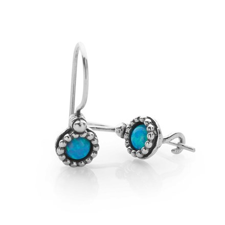 Opal Blossom Earrings