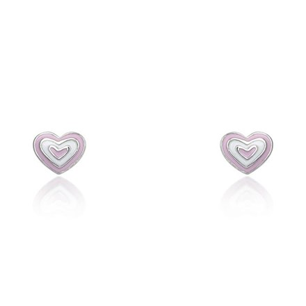 Candy Heart Children's Studs