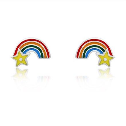 Rainbow Wish Children's Studs