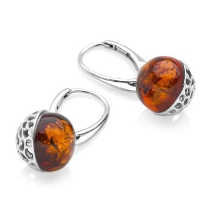 Flame Orb Earrings