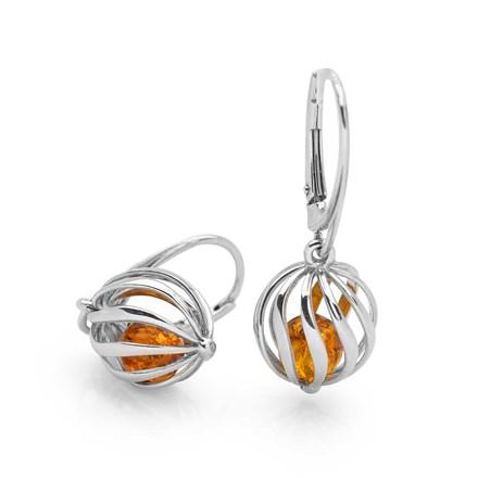 Amber Soul Earrings