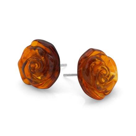 Rose Ember Earrings